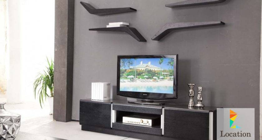 Living Room Wall Mounted Design Ideas Location