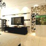 Living Room Wall Partition Design House