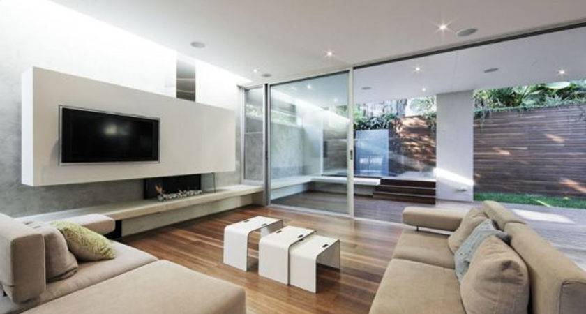Living Room Wonderful Modern Design