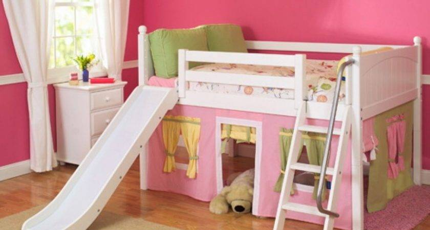 Loft Bed Storage Girls Modern