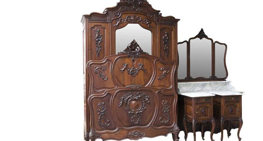 Louis Bedroom Set Pieces Versmissen Antiques
