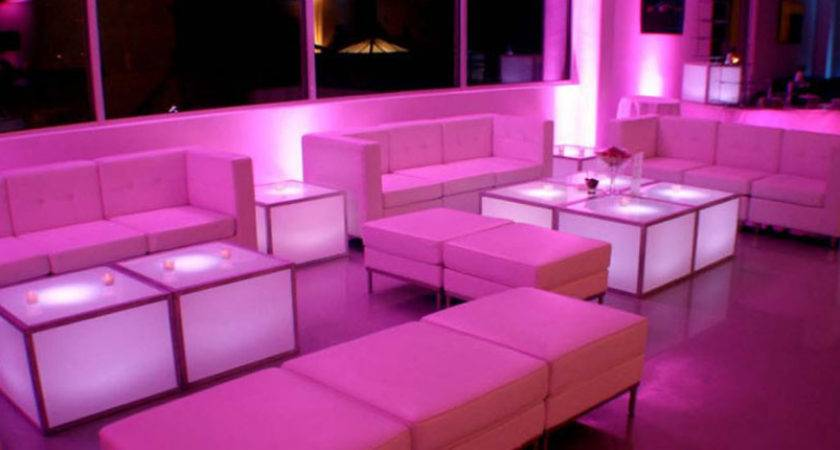 Lounge Lighted Furniture Xtrahotdjs Entertainment