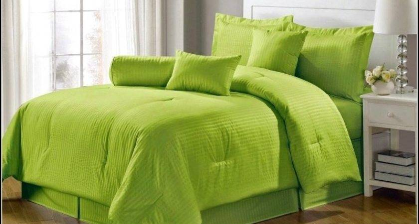 Lovely Lime Green Bedding Sets Purple Pink Duvet