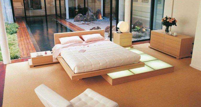 Low Height Floor Bed Designs Make Sleepy