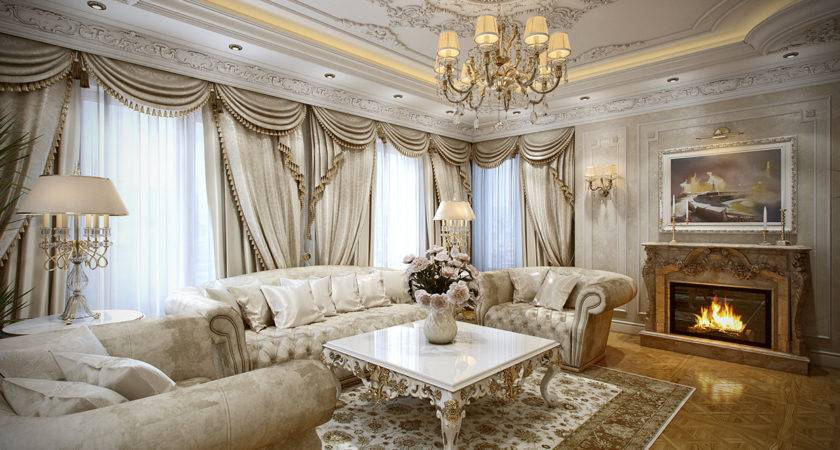 Luxurious Interiors Inspired Louis Era French Design