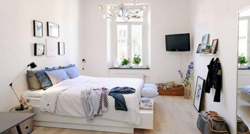 Luxury Apartment Interiors Small Bedroom