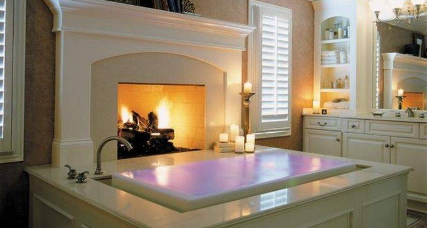 Luxury Bathrooms Fireplaces