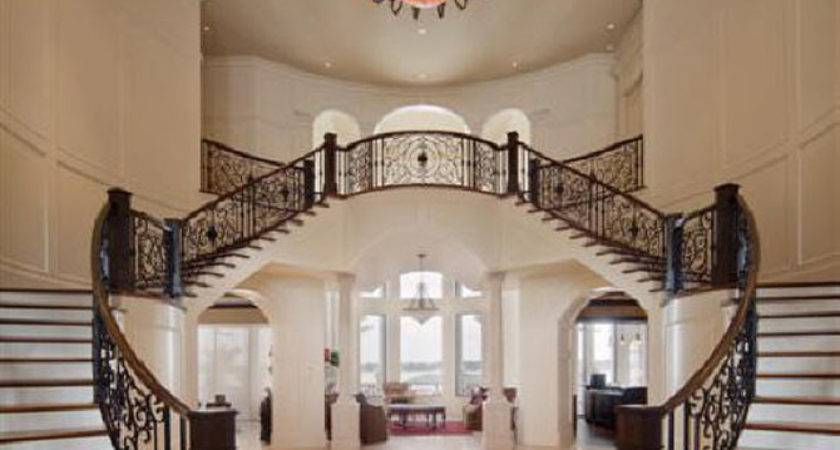 Luxury Interior Design Staircase Large Sized House