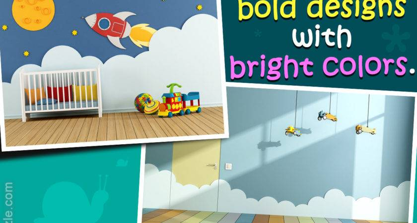 Magically Enchanting Kids Room Painting Ideas