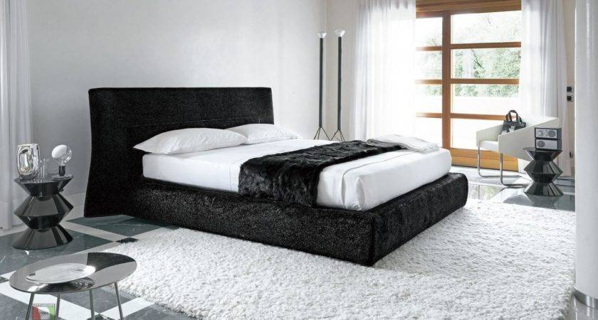 Magnificent Black White Bedding Bedroom Combination