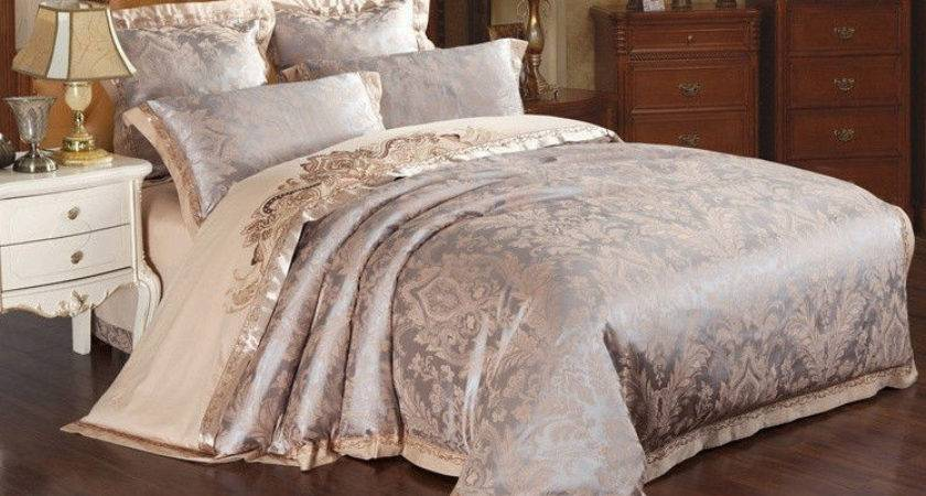 Majesty Piece Luxury Sheets Duvet Cover Set Queen