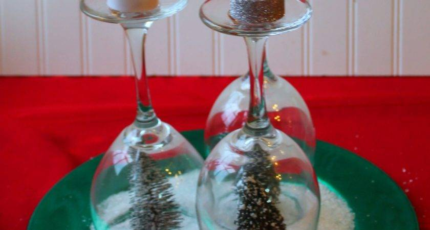 Make Simple Holiday Tree Christmas Centerpiece