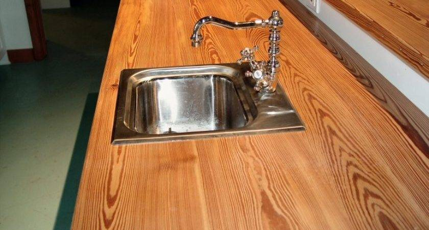 Make Wooden Countertops Sink Cutouts Custom