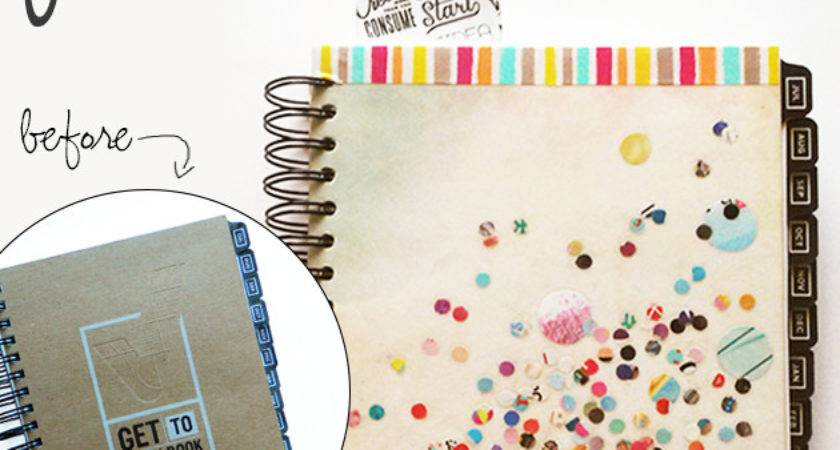 Make Your Own Notebook Planner Cover Dani Dearest