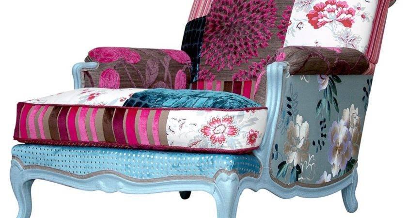 Management Chair Ideas Sackcloth Patchwork Upholstery