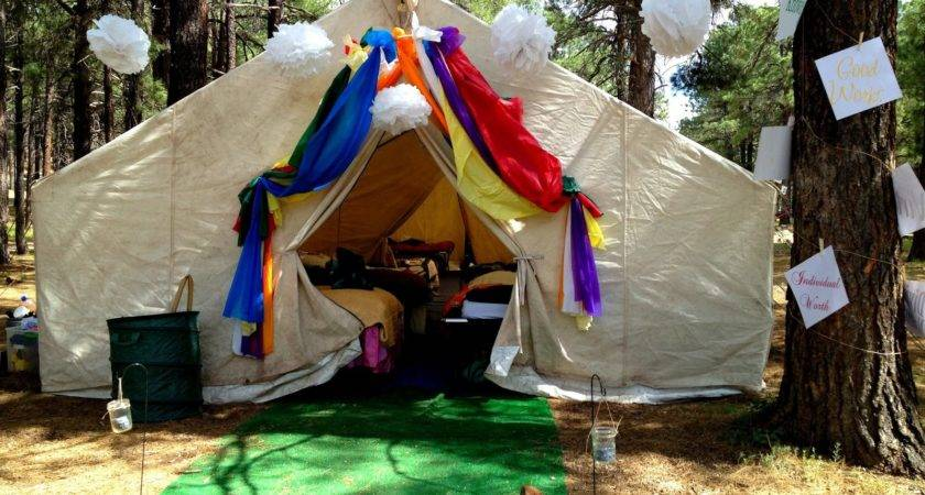 Marci Coombs Girls Camp Part Decorations Such