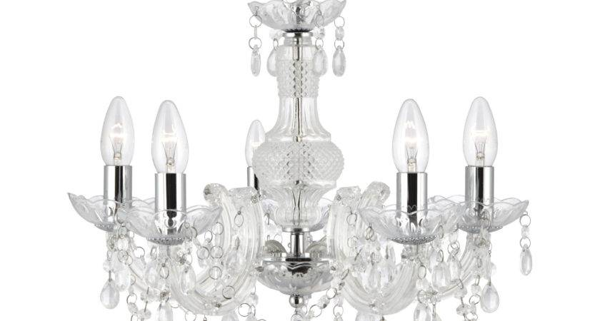 Marie Therese Clear Light Chandelier Acrylic Glass