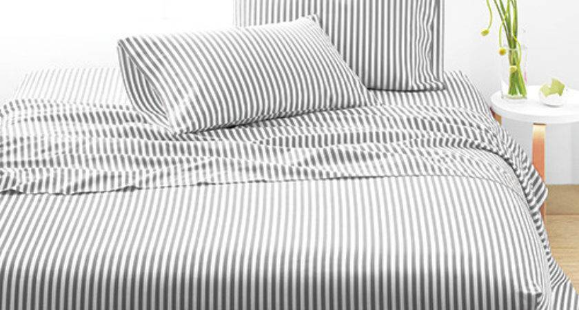 Marimekko Ajo Grey White Twin Sheet Set Bedding