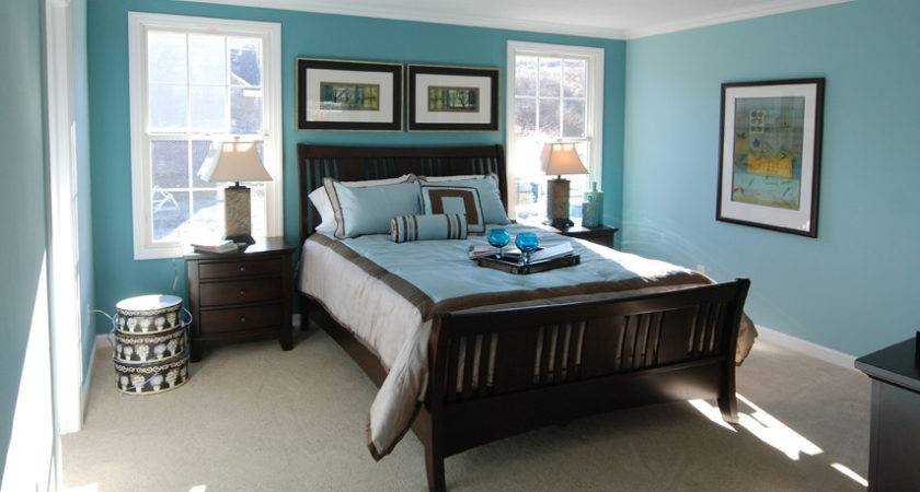 Master Bedroom Decorating Ideas Blue Walls Home Delightful