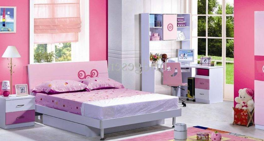 Mdf Pink Girl Bedroom Furniture Set Bridgesen Fresh
