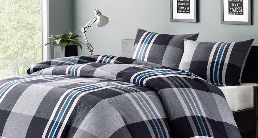 Mens Boys Teens Bedding Comforter Set Twin Queen