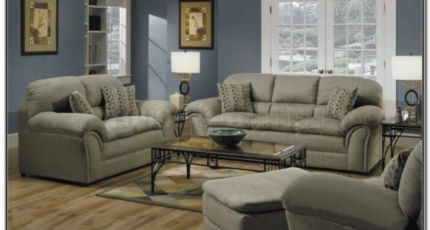 Microfiber Living Room Sets Home