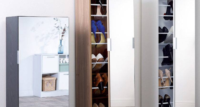 Mirrored Shoe Cabinet White Next Day Delivery