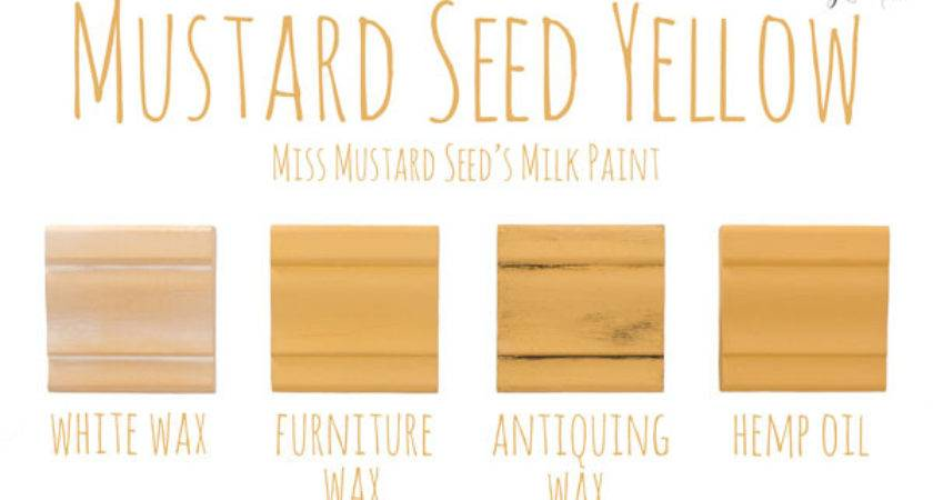Miss Mustard Seed Milk Paint Color Top Coats
