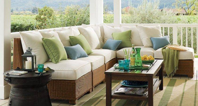 Mix Match Outdoor Accent Pillows Spaces