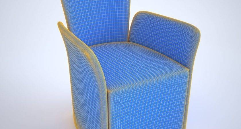 Model Chair Nido Calligaris Low Poly Max Obj