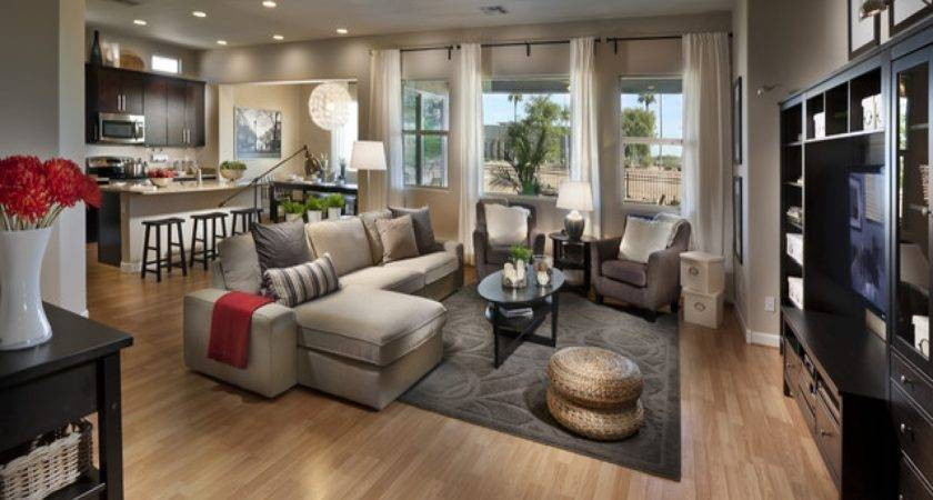 Model Home Interior Design Modern House