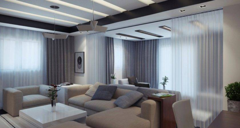 Modern Apartment Living Room Design Ideas