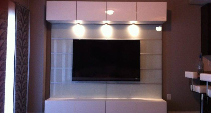 Modern Bedroom Wall Units Ideas Led Lighting Above