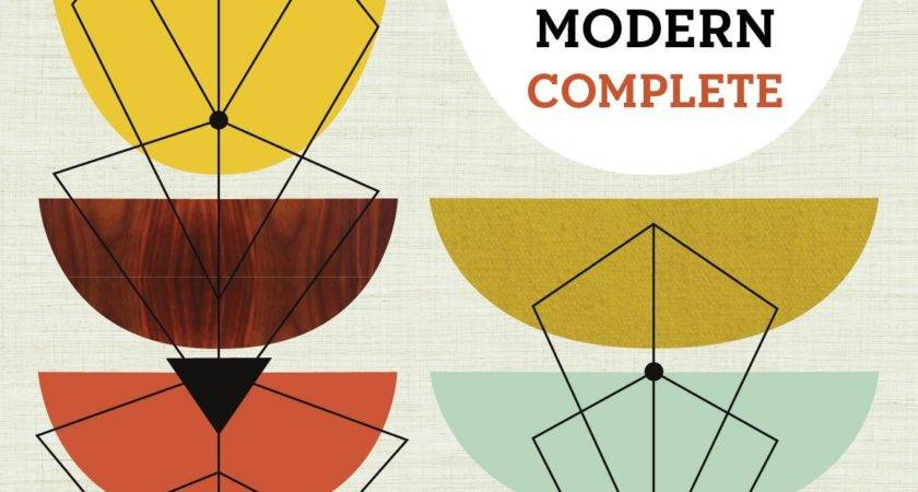 Modern Design Mid Century Graphic Elements
