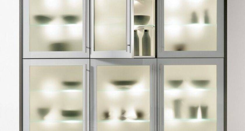Modern Glass Kitchen Cabinet Crowdbuild