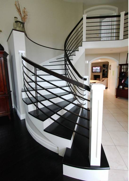 Modern Homes Interior Stairs Designs Ideas Home Decorating Barb Homes