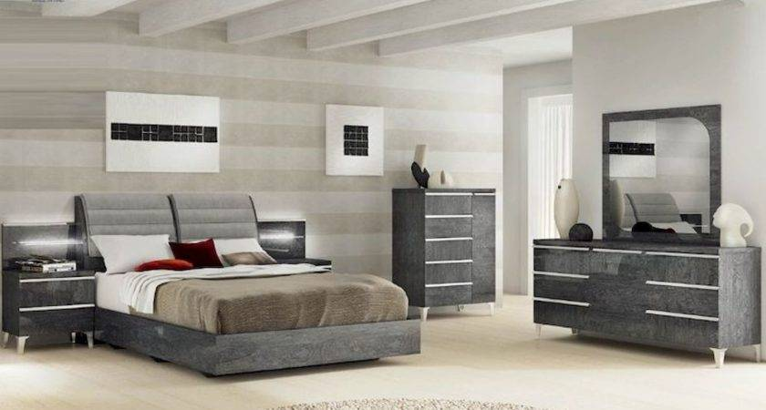 Modern Italian Bedroom Set Elite