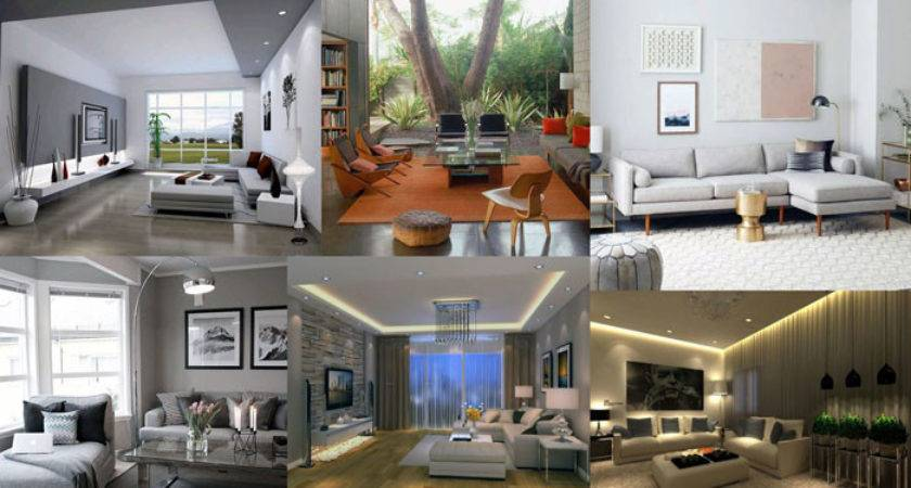 Modern Living Room Interior Exclusive Decorating