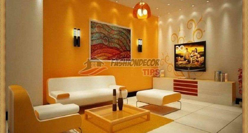 Modern Living Room Wall Color Two