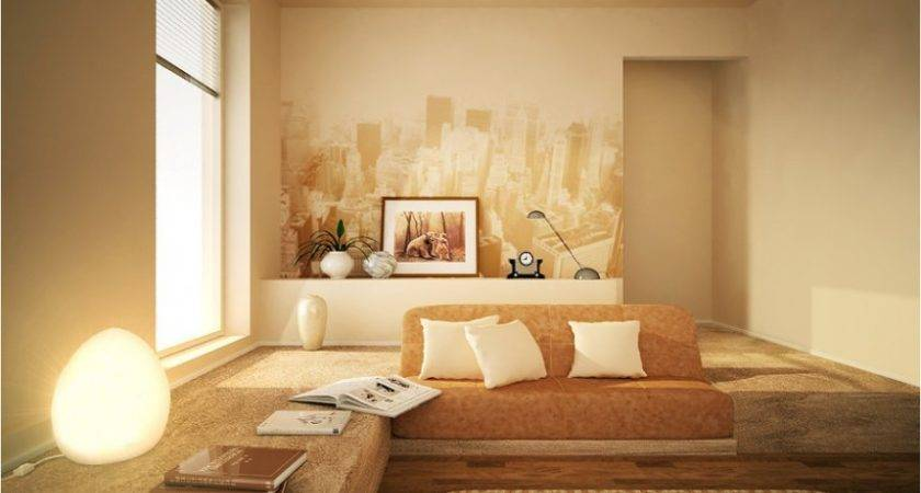 Modern Living Room Warm Color Ideas Kitchentoday