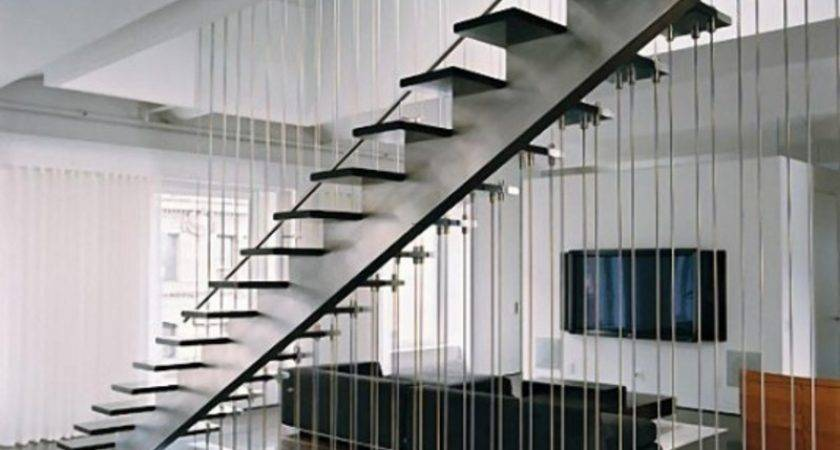Modern Loft Interior Design Stairs