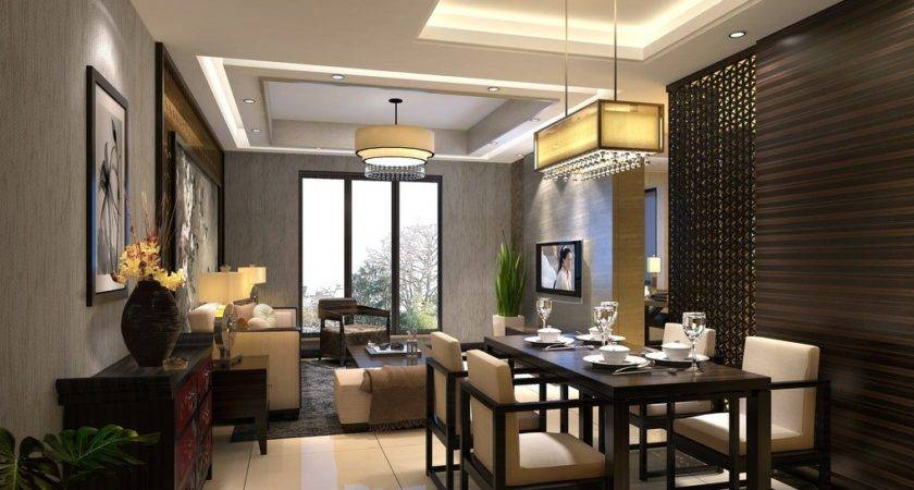 Modern Partition Design Living Dining Room House