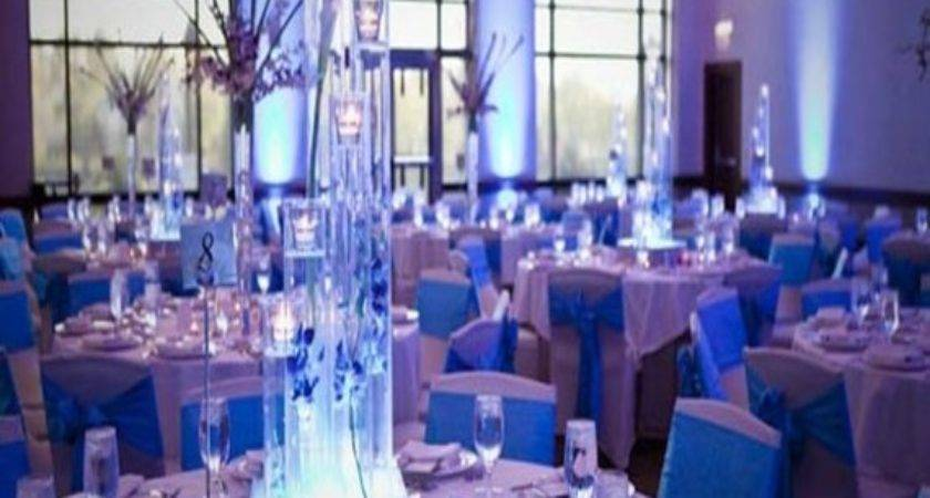 Modern Reception Chairs Light Blue Purple Wedding