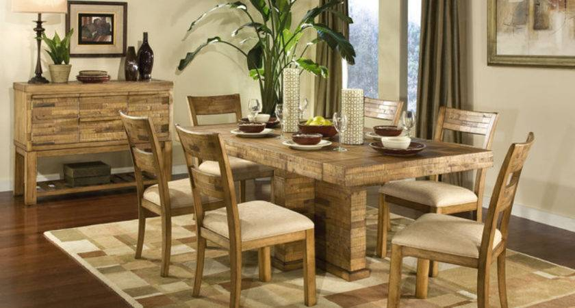 Modern Rustic Dining Room Contemporary