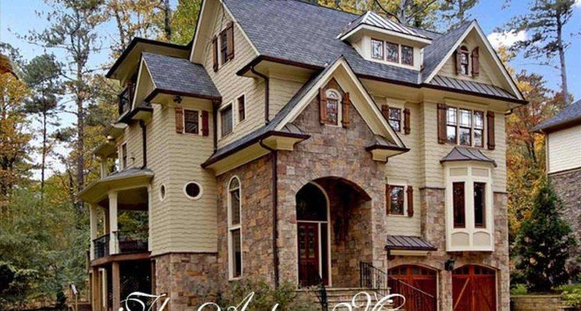 Modern Rustic Stone House Plans Prairie Style Amazing Cool