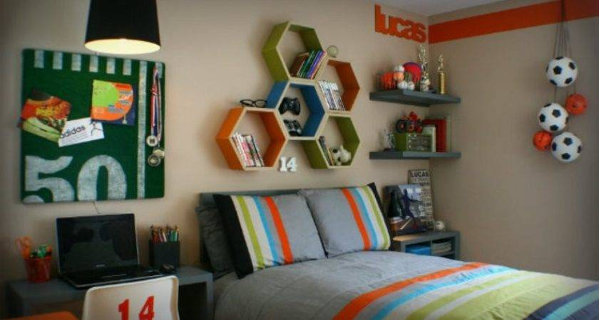 Modern Teen Bedroom Designs Based Boy Hobbies