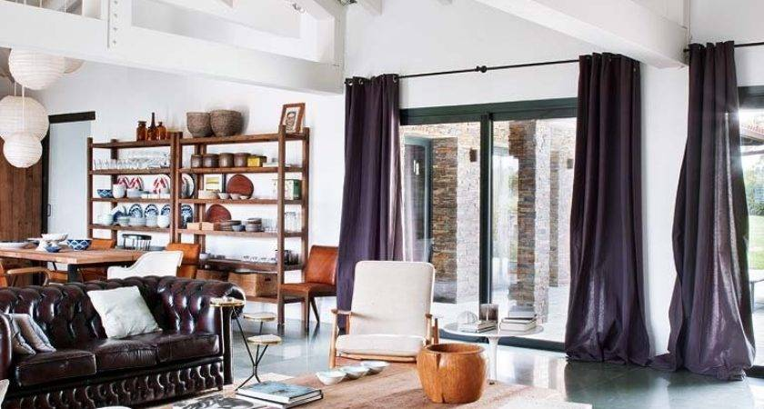 Modern Vintage Industrial Accents Share Holiday Home