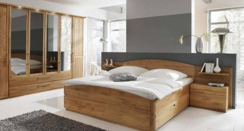Modern Wood Bedroom Furniture Contemporary Brown