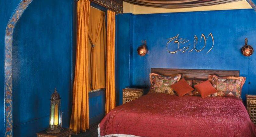 Moon Moroccan Bedroom Interiors