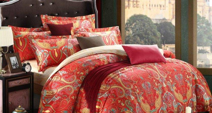 Moroccan Inspired Bedding Sets Applying